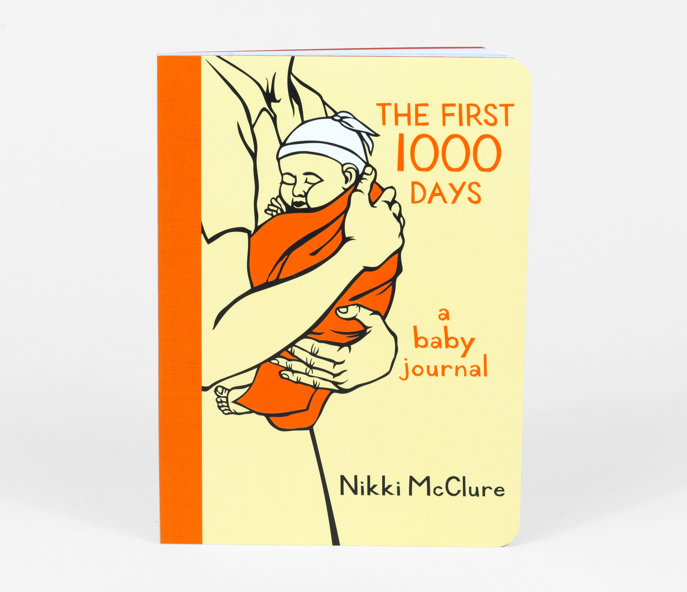 Nikki McClure - The First 1000 Days, journal