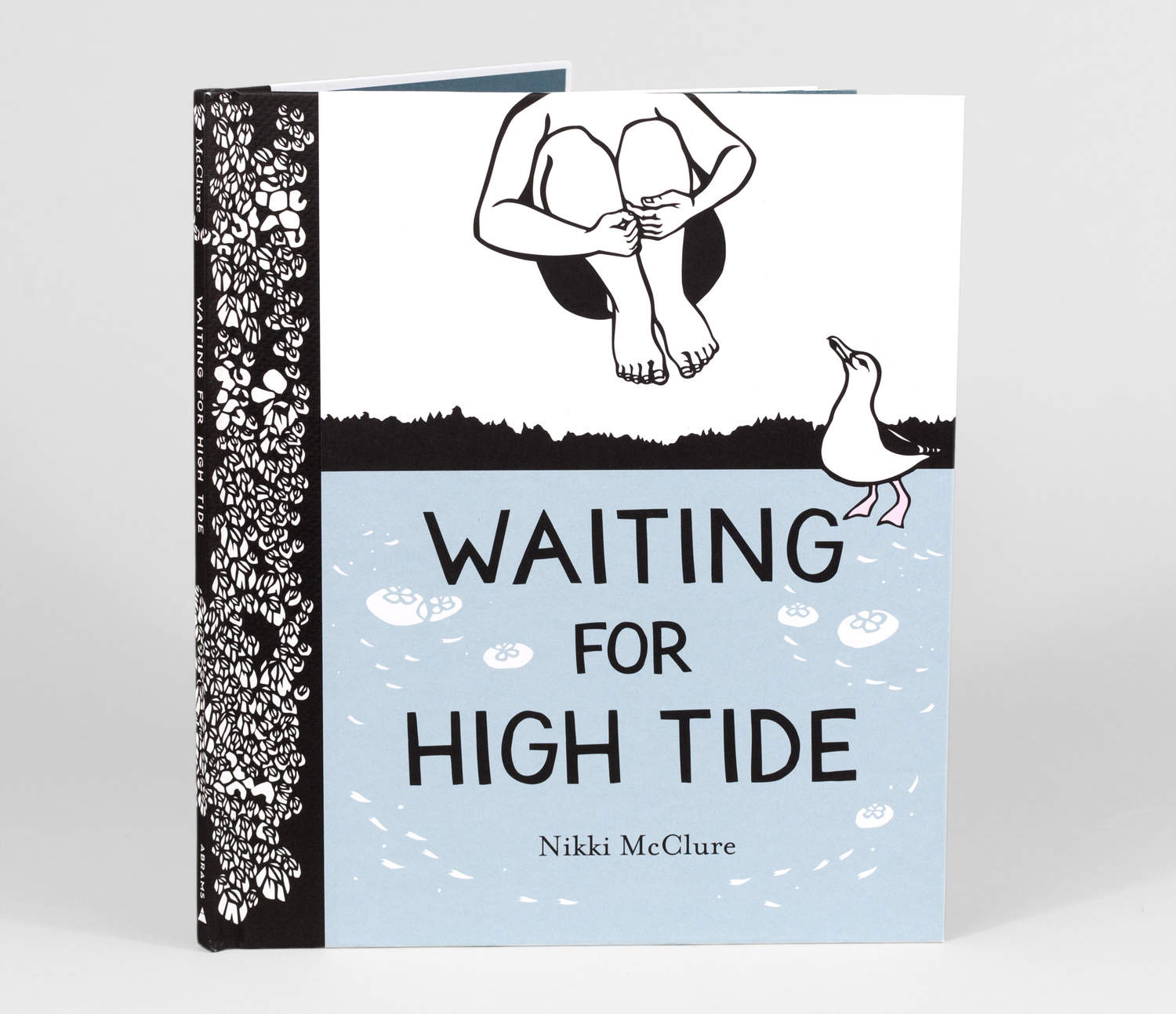 Waiting For High Tide - by Nikki McClure