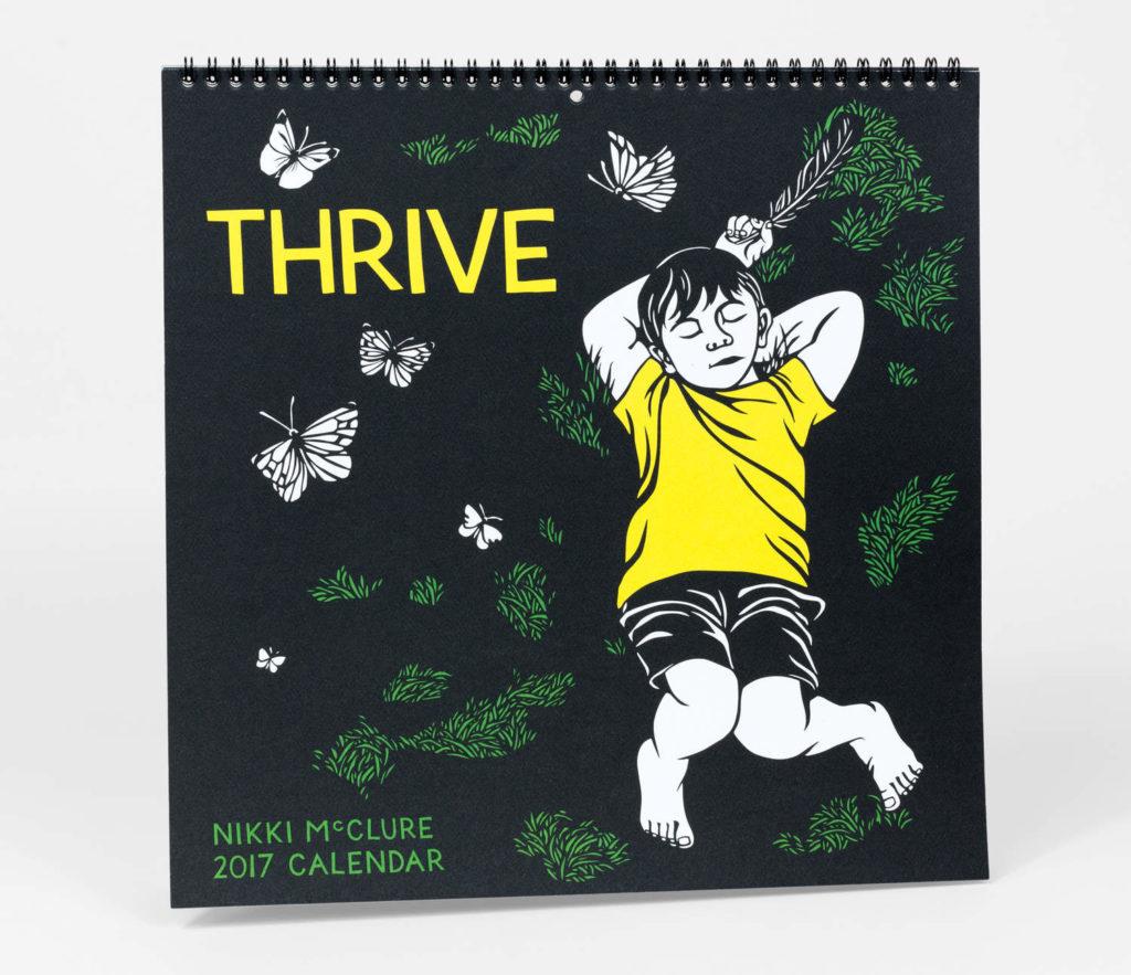 Nikki McClure - Thrive 2017 Calendar