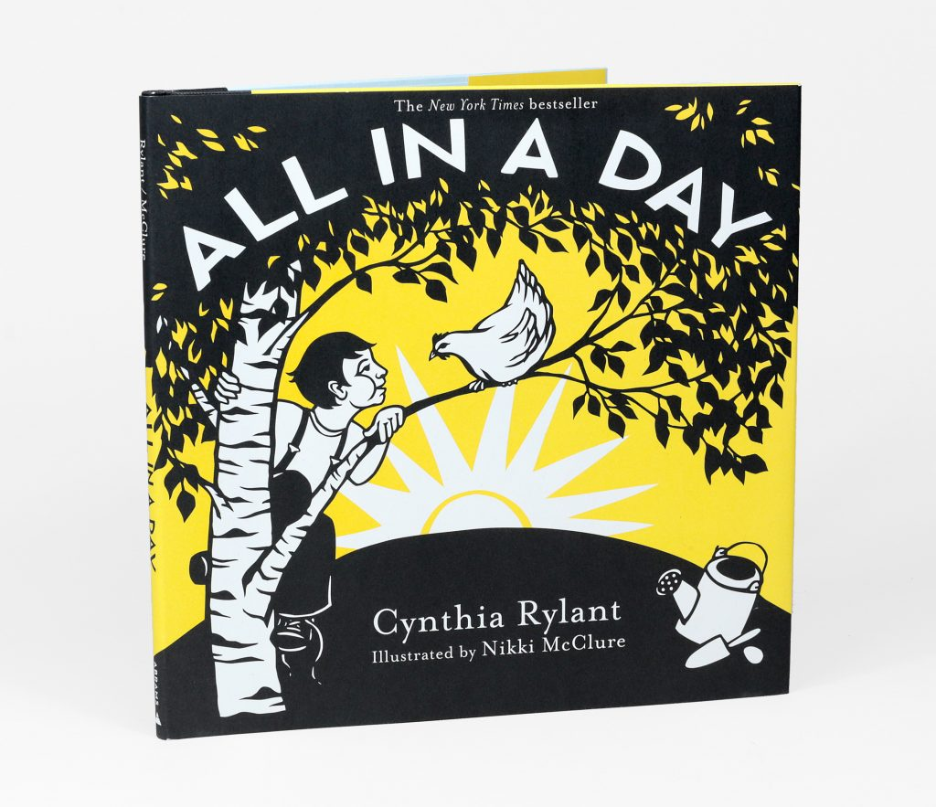 Nikki McClure - All In A Day, book