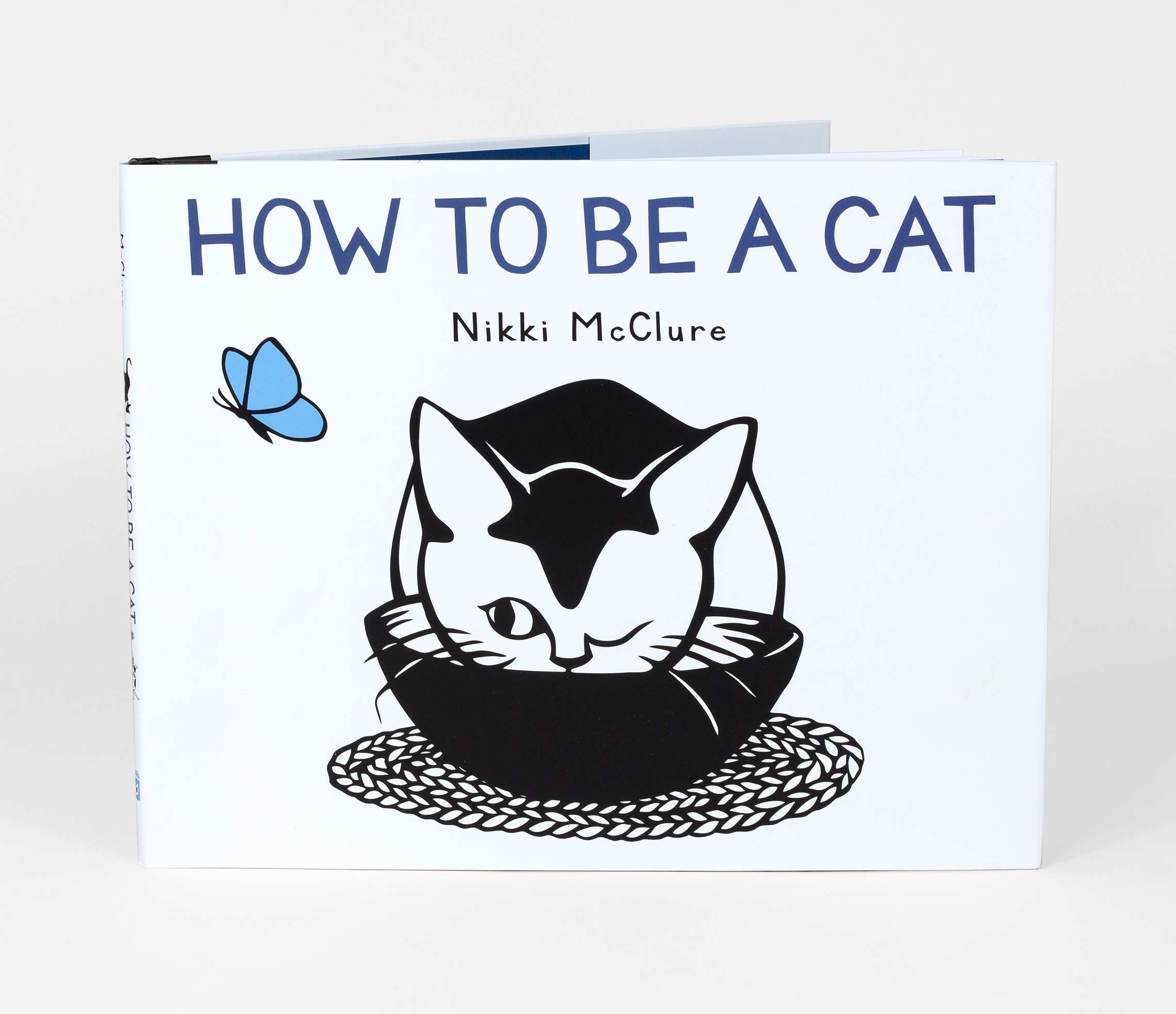 Nikki McClure - How To Be A Cat, book